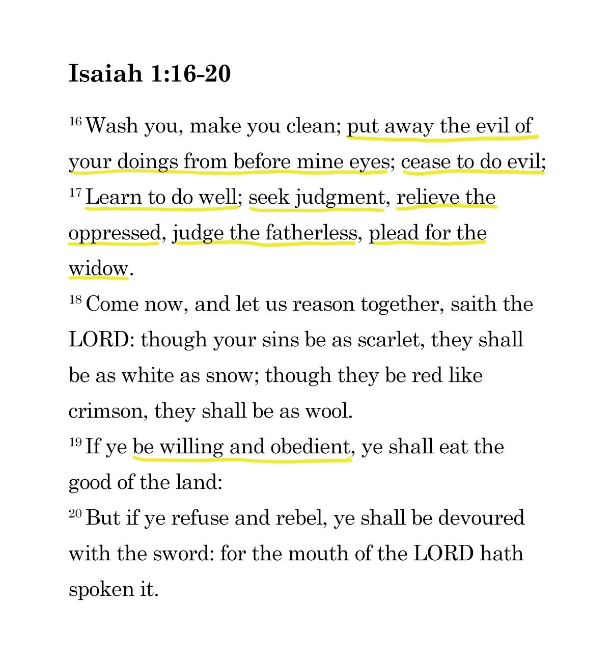 Isaiah passage